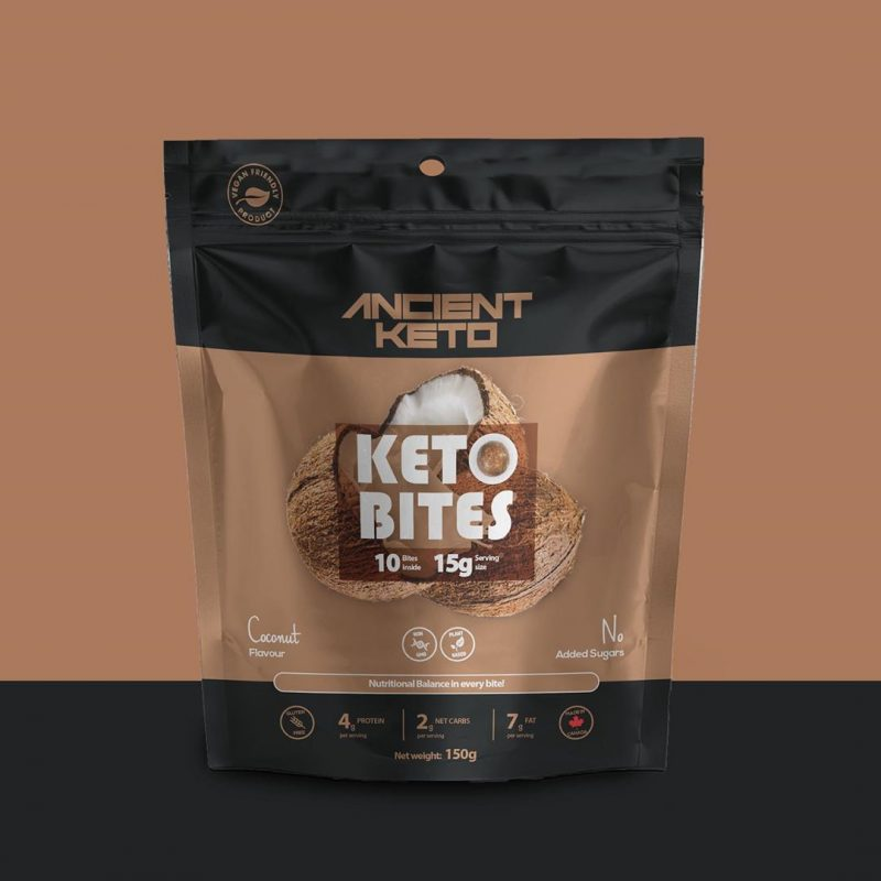 Coconut Keto Bites 1 - Keto Certified by the Paleo Foundation