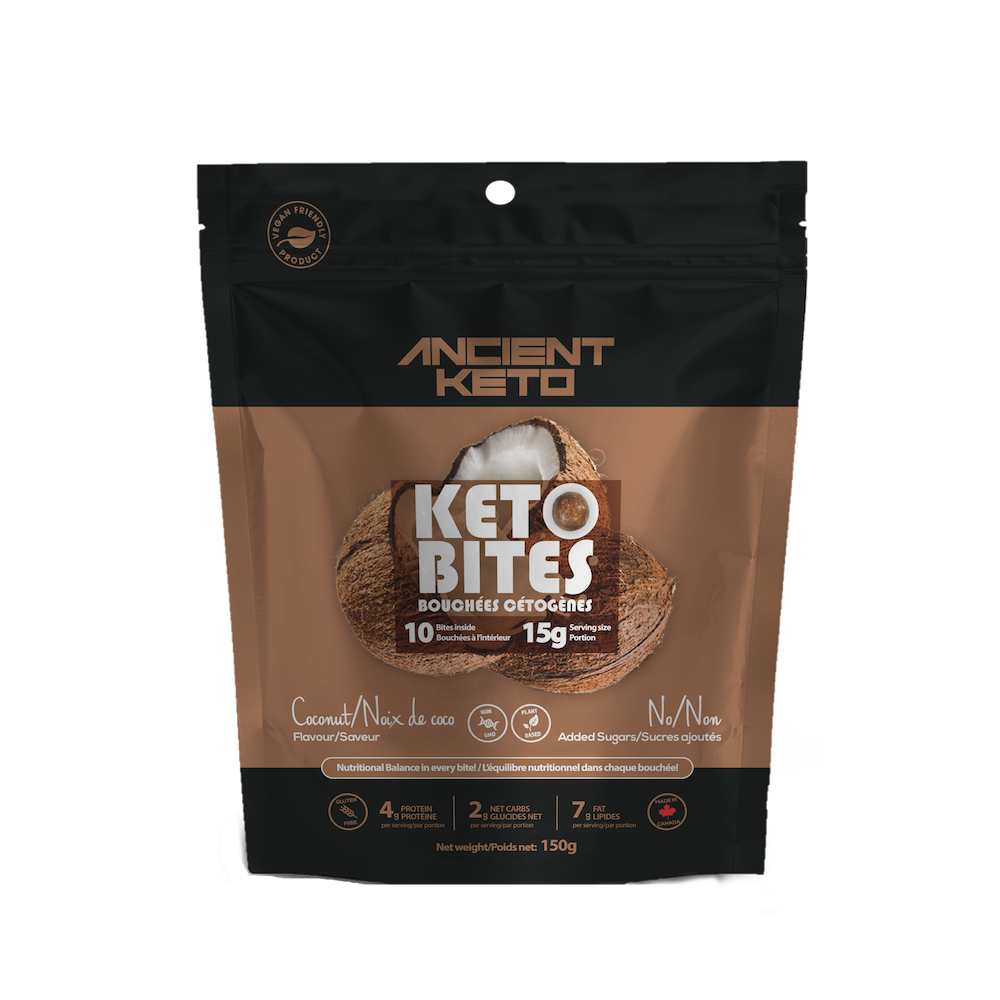 Coconut Keto Bites - Keto Certified by the Paleo Foundation
