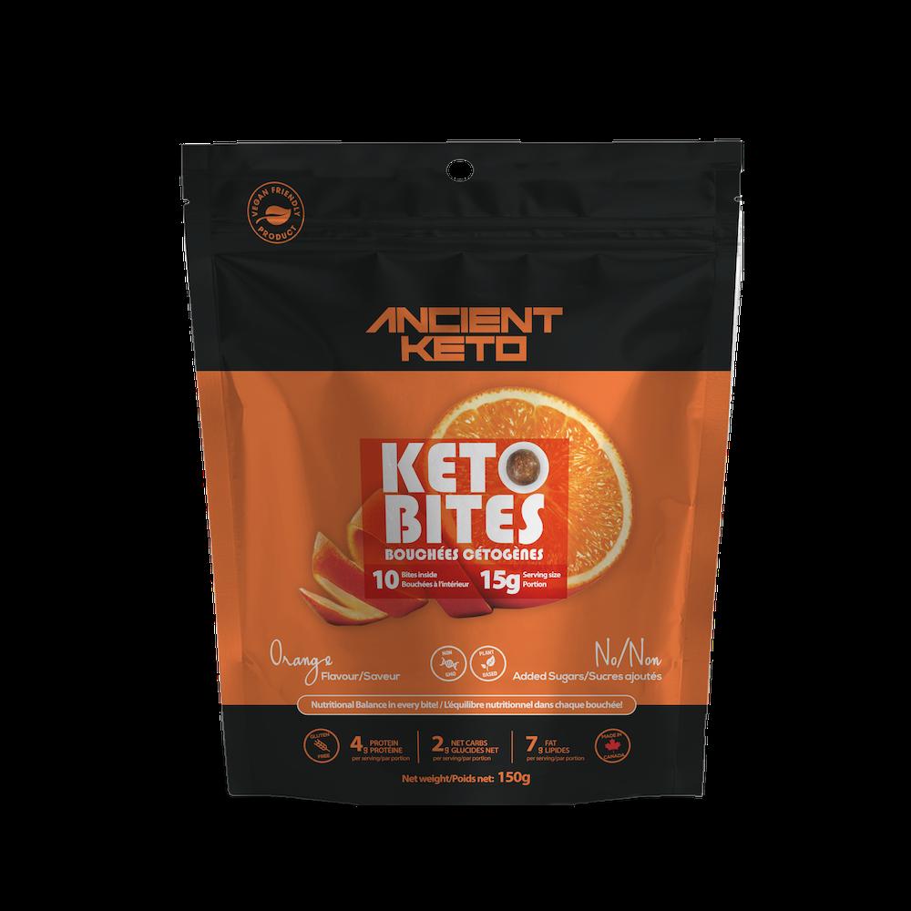 Orange Keto Bites - Keto Certified by the Paleo Foundation