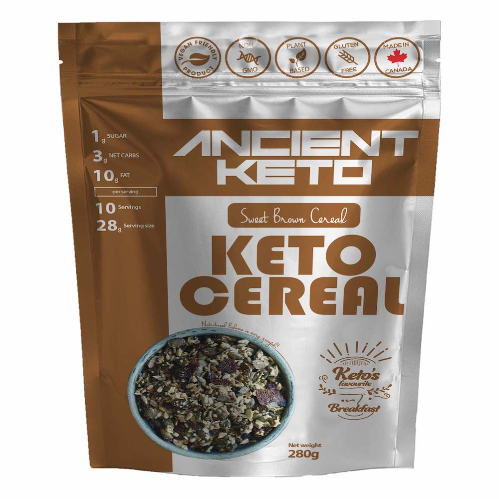 Sweet Brown Keto Cereal - Keto Certified by the Paleo Foundation