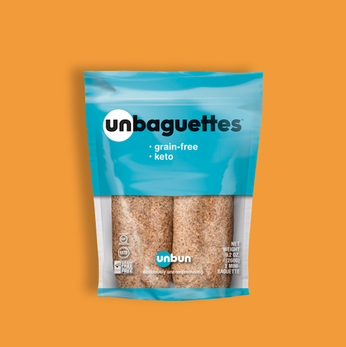 grain free keto baguettes