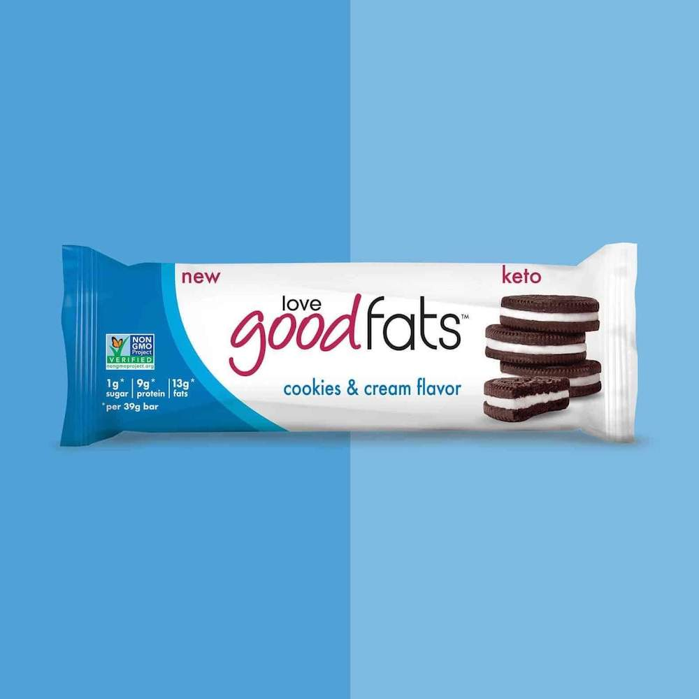 Cookies & Cream Bar - Keto Certified by the Paleo Foundation