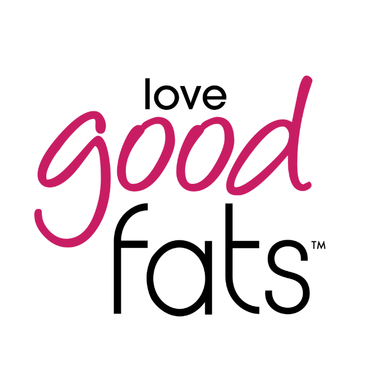 Love Good Fats Logo - Keto Certified by the Paleo Foundation