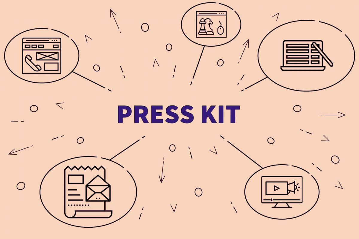 Electronic Press Kit Requirements for Food Brands