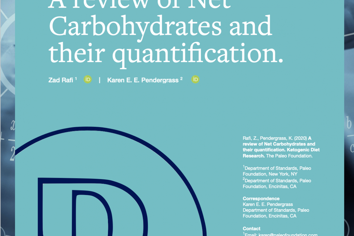 A review of Net Carbohydrates and their quantification.