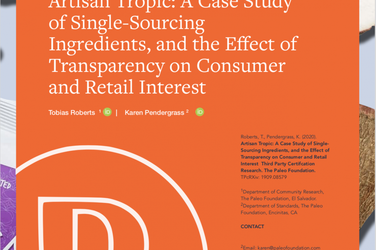 Artisan Tropic: A Case Study on The Effect of transparency on Consumer and Retail Interest