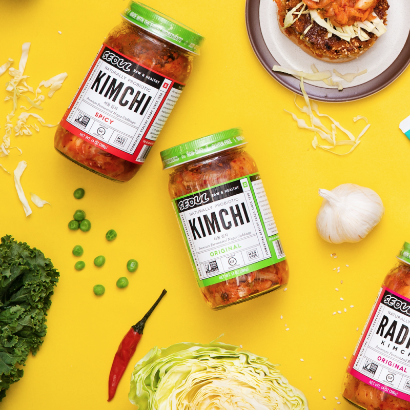 Kimchi Sauces 10 - Lucky Foods - Keto Certified by the Paleo Foundation