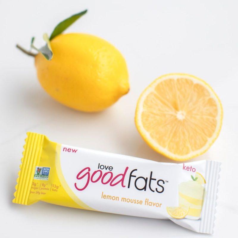 Lemon Mousse Bar 1 - Love Good Fats - Keto Certified by the Paleo Foundation