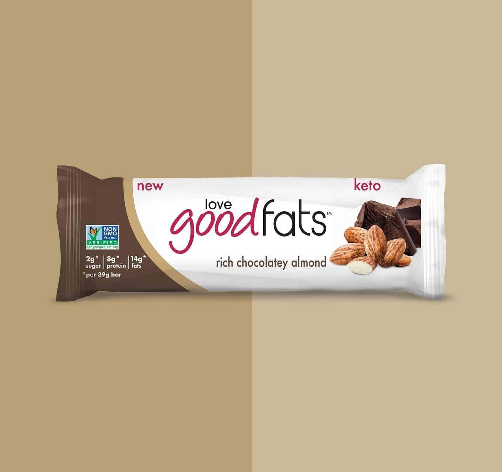Rich Chocolatety Almond - Love Good Fats - Keto Certified by the Paleo Foundation