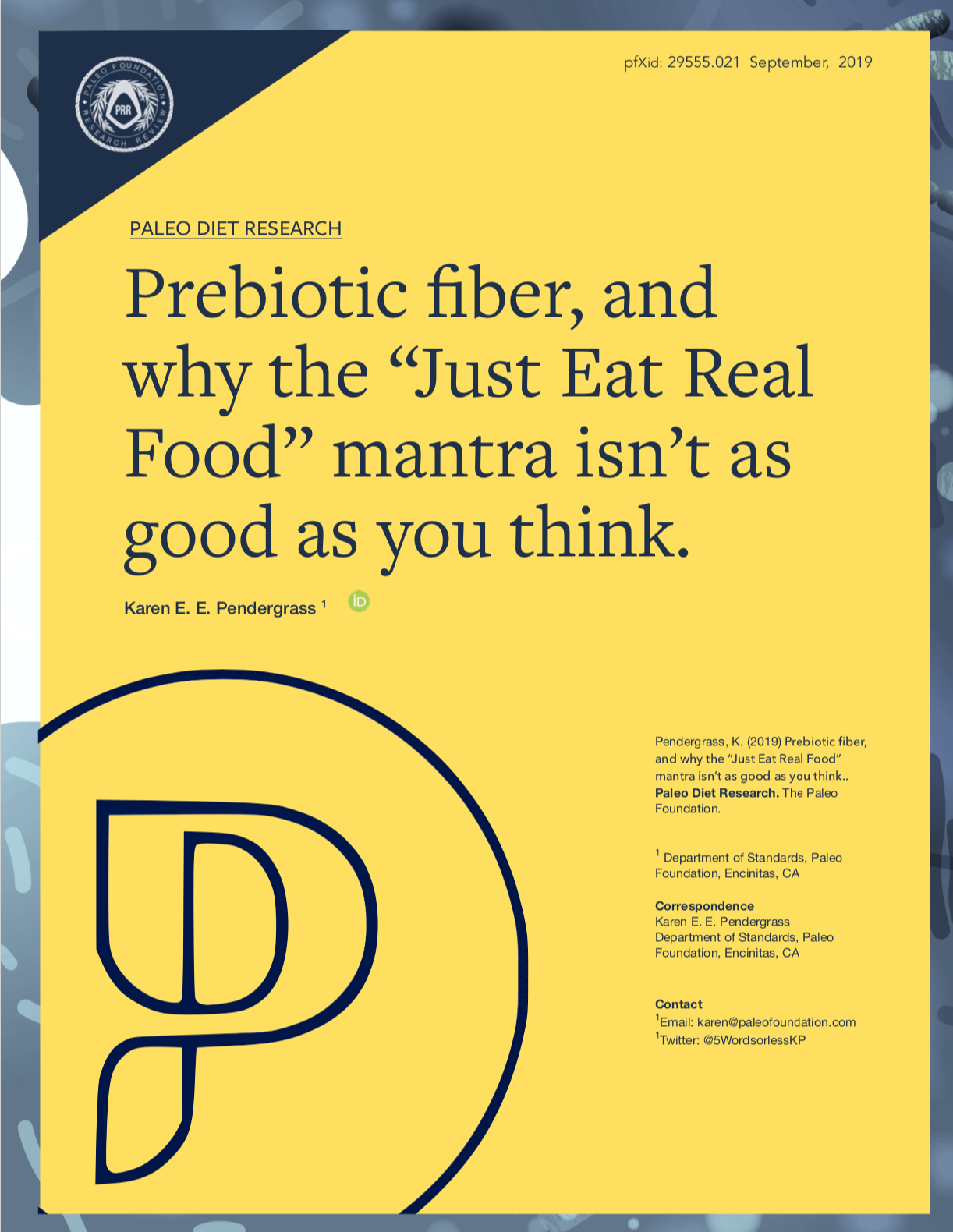 prebiotic fiber and why the just eat real food mantra isnt as good as you think
