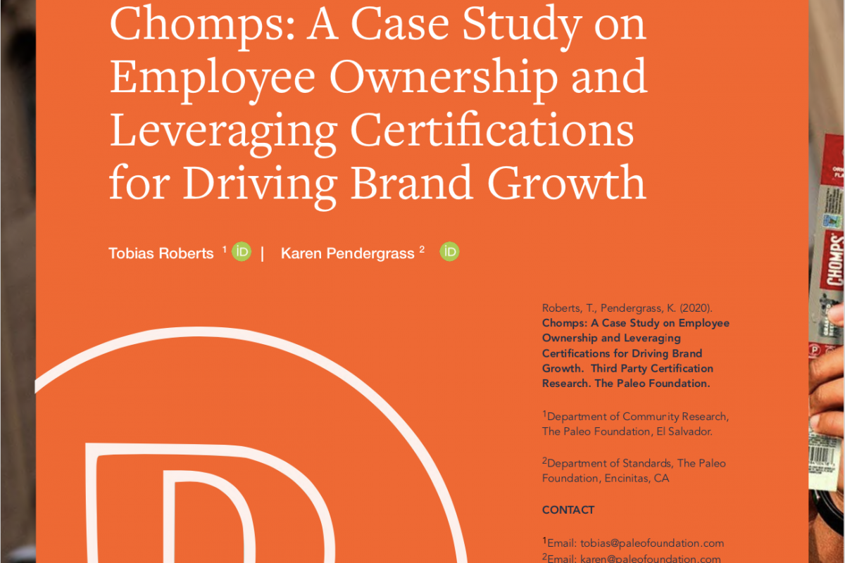 Chomps: A Case Study on Leveraging Certifications for Driving Brand Growth