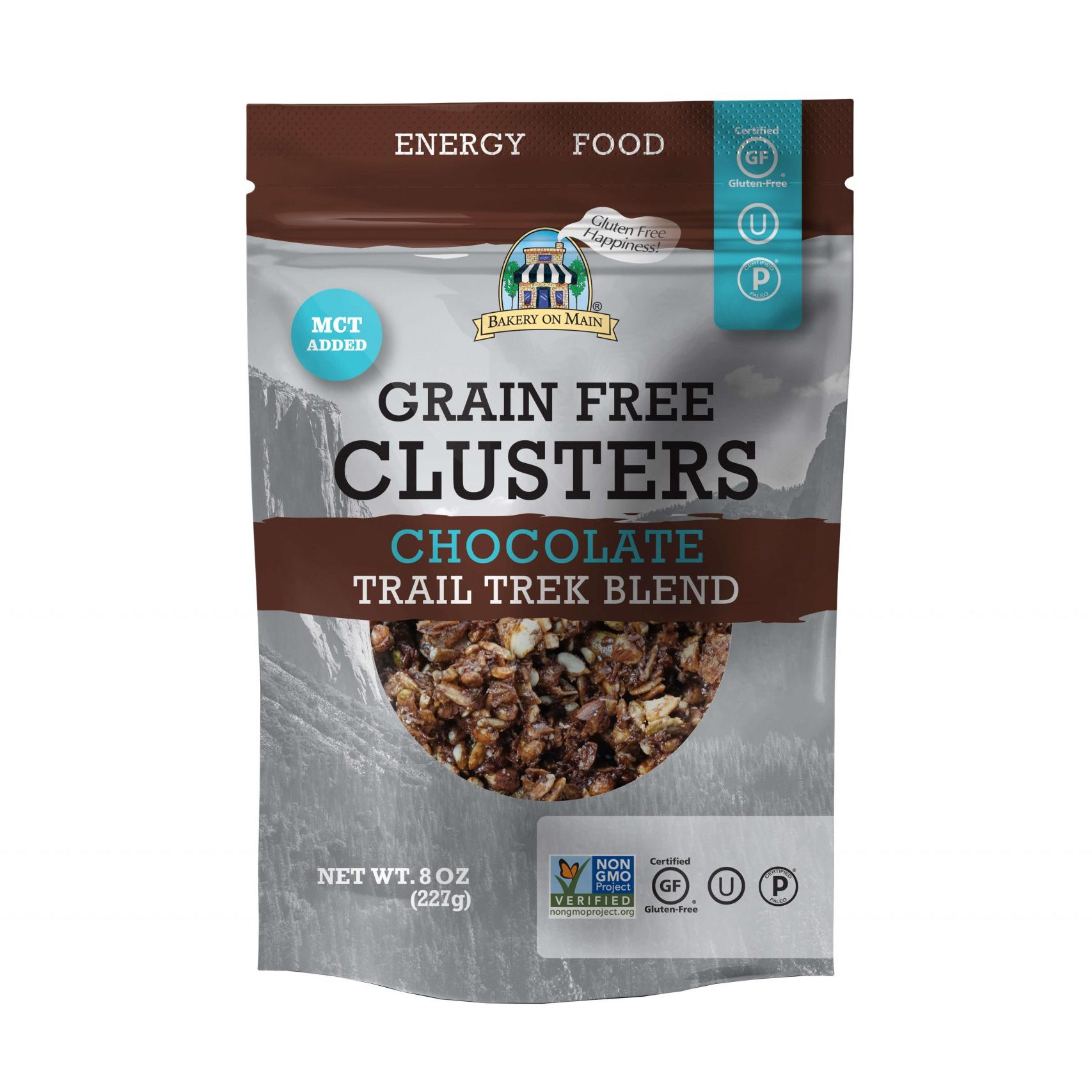 Grain-Free Clusters Chocolate Trail Trek Blend - Bakery on Main - Keto Certified by the Paleo Foundation
