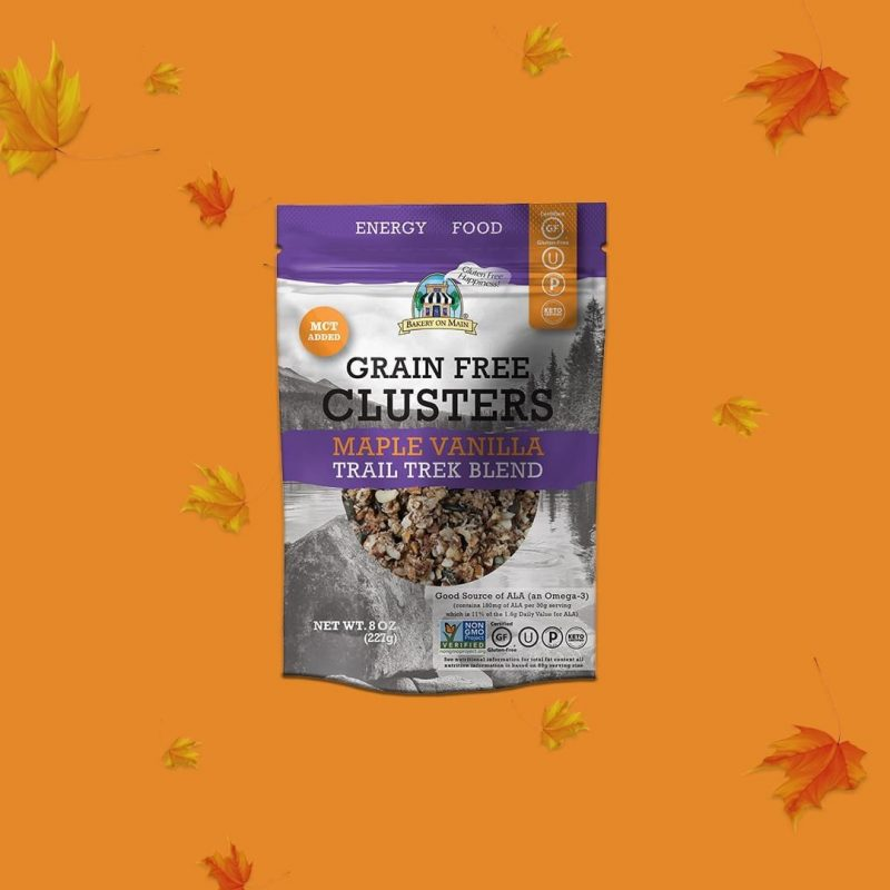 Grain-Free Clusters Maple Vanilla Trail Trek Blend 02 - Keto Certified by the Paleo Foundation