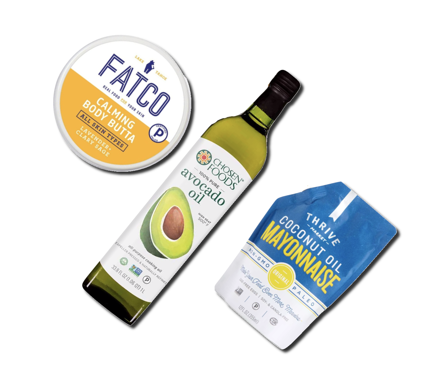 Paleo and Keto Certified products