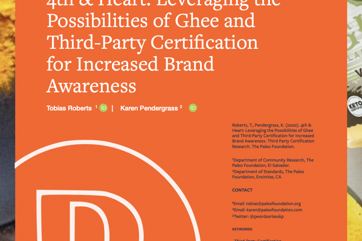 4th and Heart: Leveraging Third-Party Certification for Increased Brand Awareness