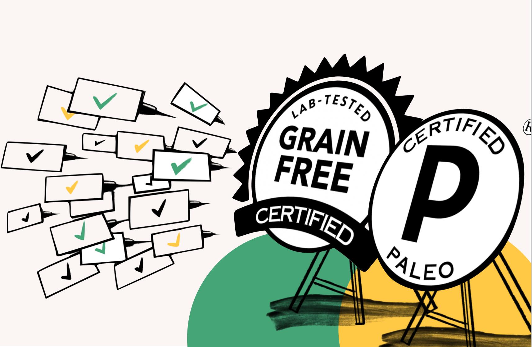 Certified Paleo + Grain Free Certification