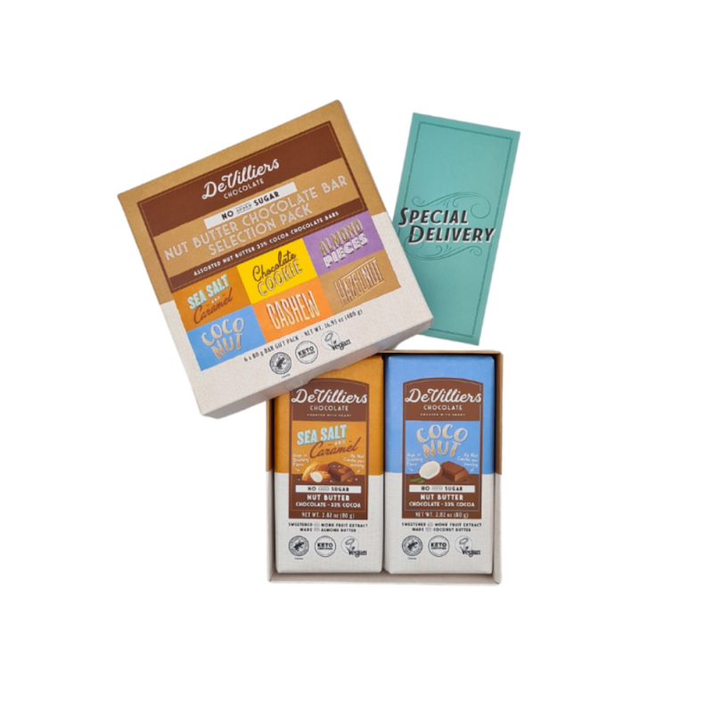 De Villiers Chocolate Keto Certified by the Paleo Foundation