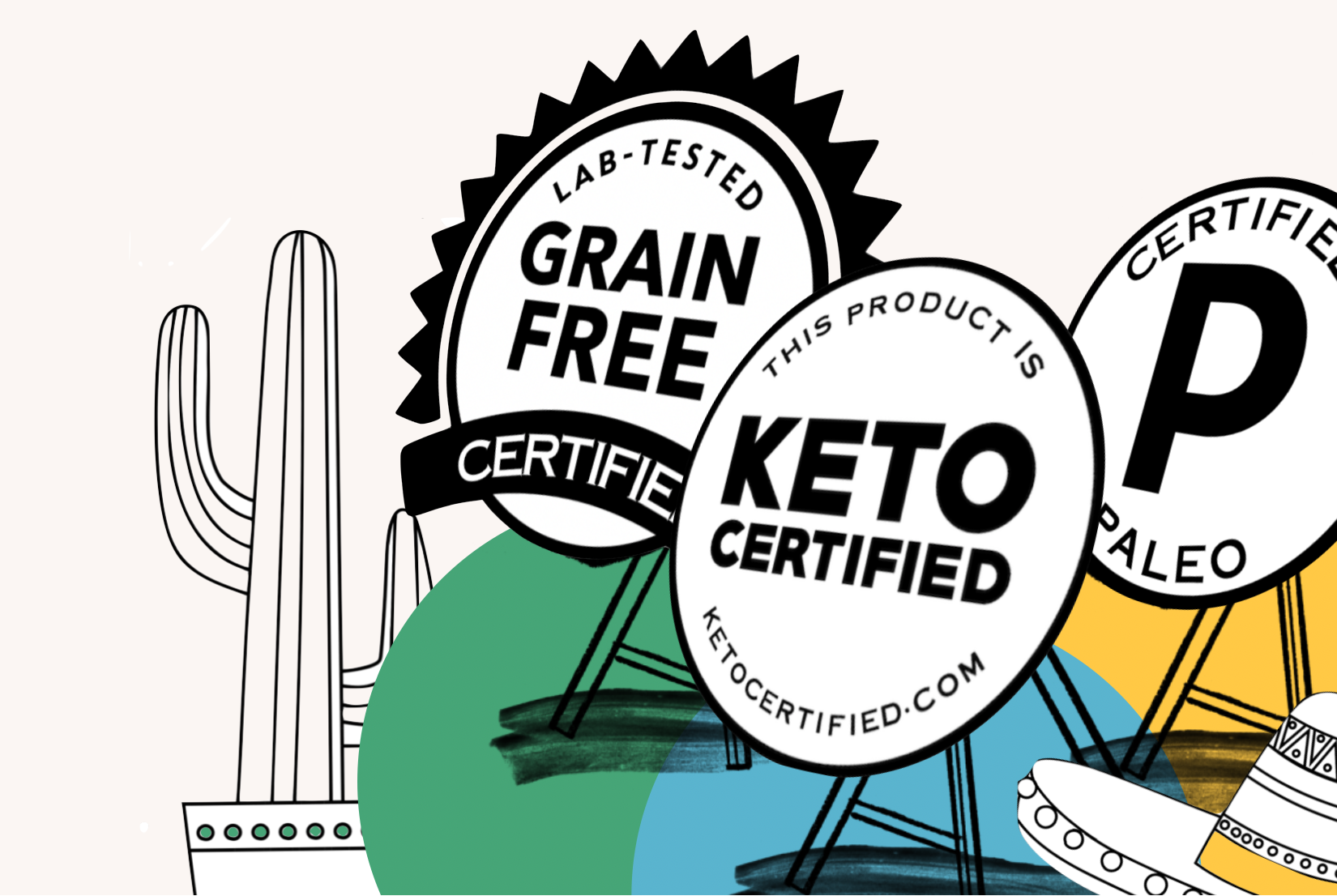Grain-Free, Paleo, Keto Certification