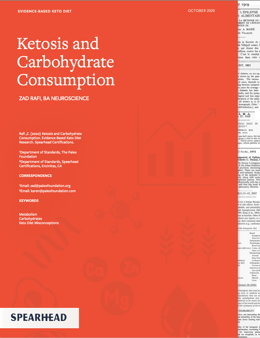 Ketosis and Carbohydrate Consumption Zad Rafi keto myths