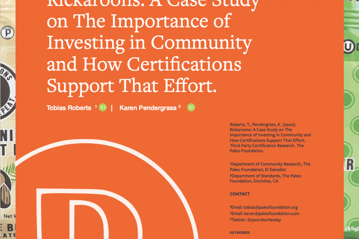 Rickaroons: Case Study on The Importance of Community and How Certification Supports That Effort