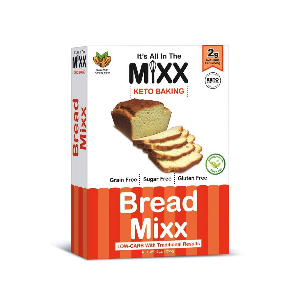 Bread Mixx - It's All in the Mixx - Keto Certified by the Paleo Foundation
