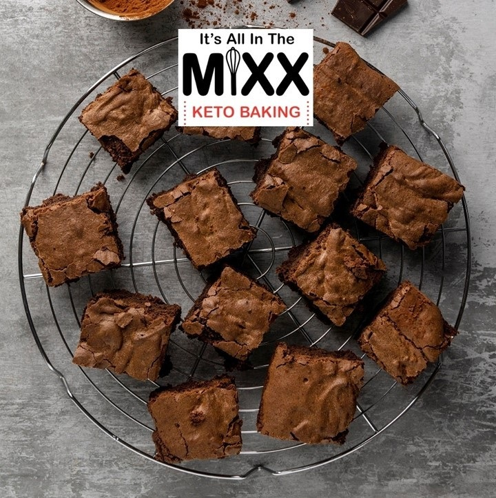 Brownies - It's All In The Mixx - Keto Certified by the Paleo Foundation