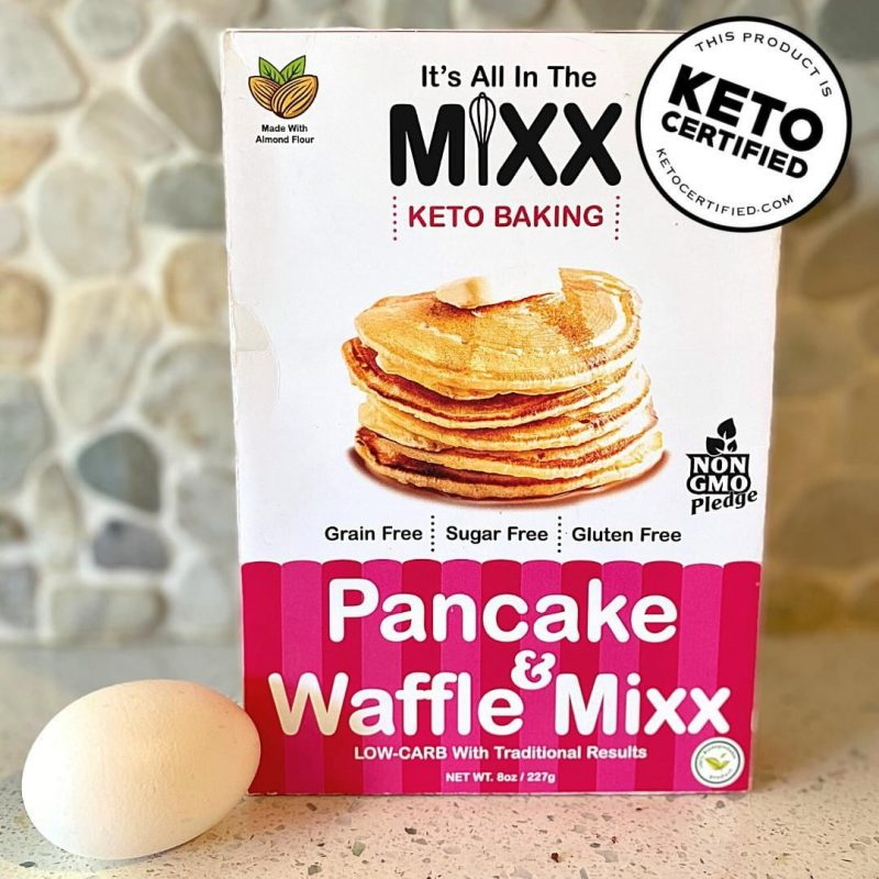 Pancake & Waffle Mixx 1 - It's All in the Mixx - Keto Certified by the Paleo Foundation