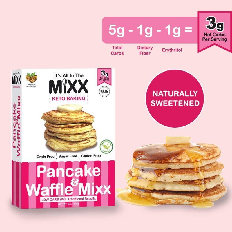 Pancake & Waffle Mixx 2 - Keto Certified by the Paleo Foundation