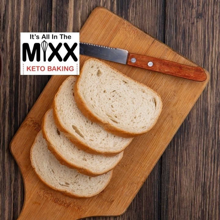Sliced Bread - It's All In The Mixx - Keto Certified by the Paleo Foundation
