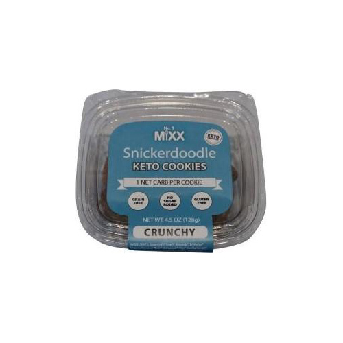 Snickerdoodle Keto Cookies - It's All In The Mixx - Keto Certified by the Paleo Foundation