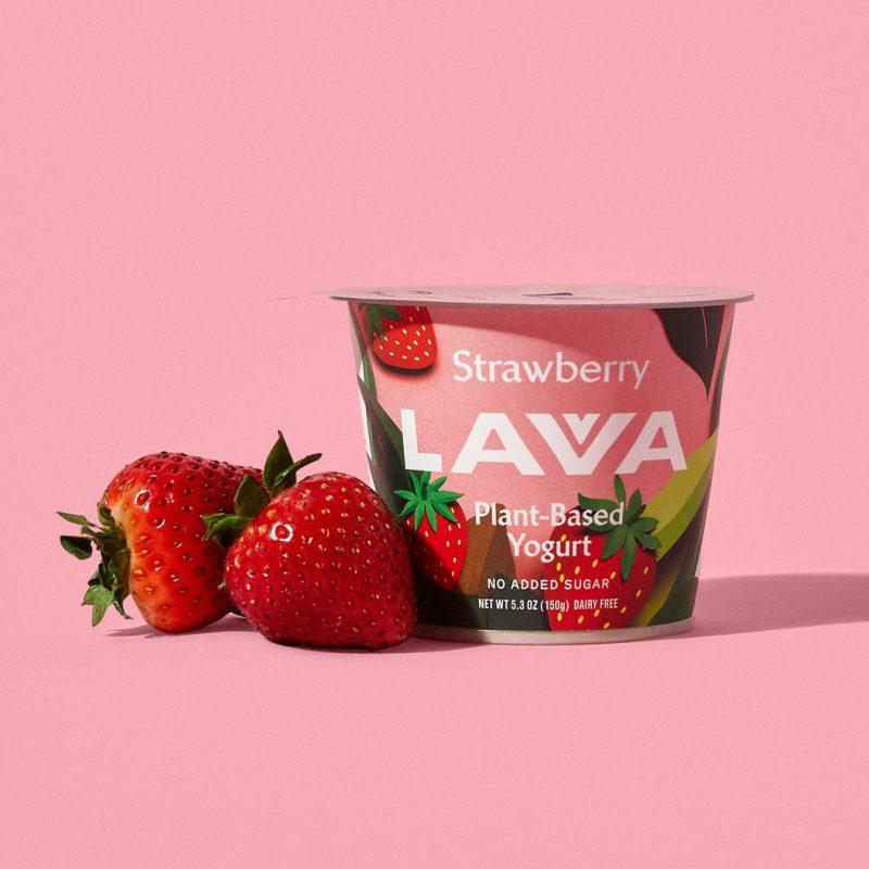 Lavva Non Dairy Yogurt Strawberry - EVR Foods - Certified Paleo by the Paleo Foundation