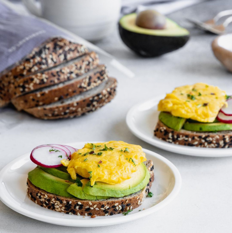Avocado Egg Snack Low Carb Bread - Carbonaut - Keto Certified by the Paleo Foundation