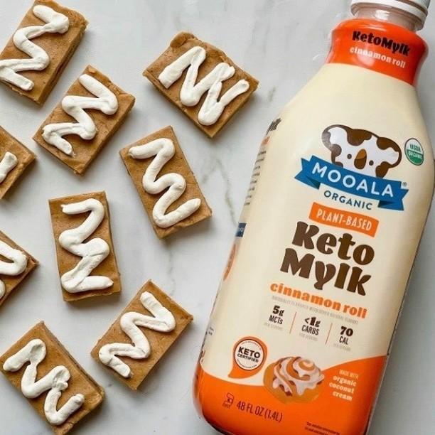 Cinnamon Roll Keto Mylk Bottle - Mooala - Keto Certifed by the Paleo Foundation