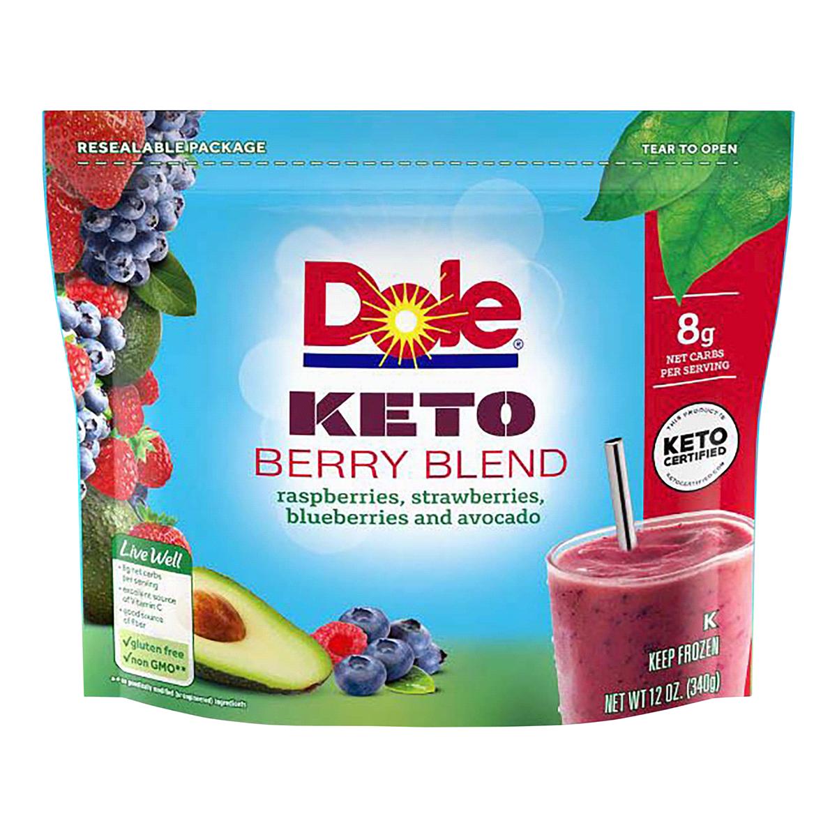 Keto Berry Blend - Dole - Keto Certified by the Paleo Foundation