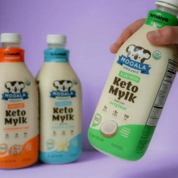 Keto Mylk Bottle Lineup - Mooala - Keto Certifed by the Paleo Foundation