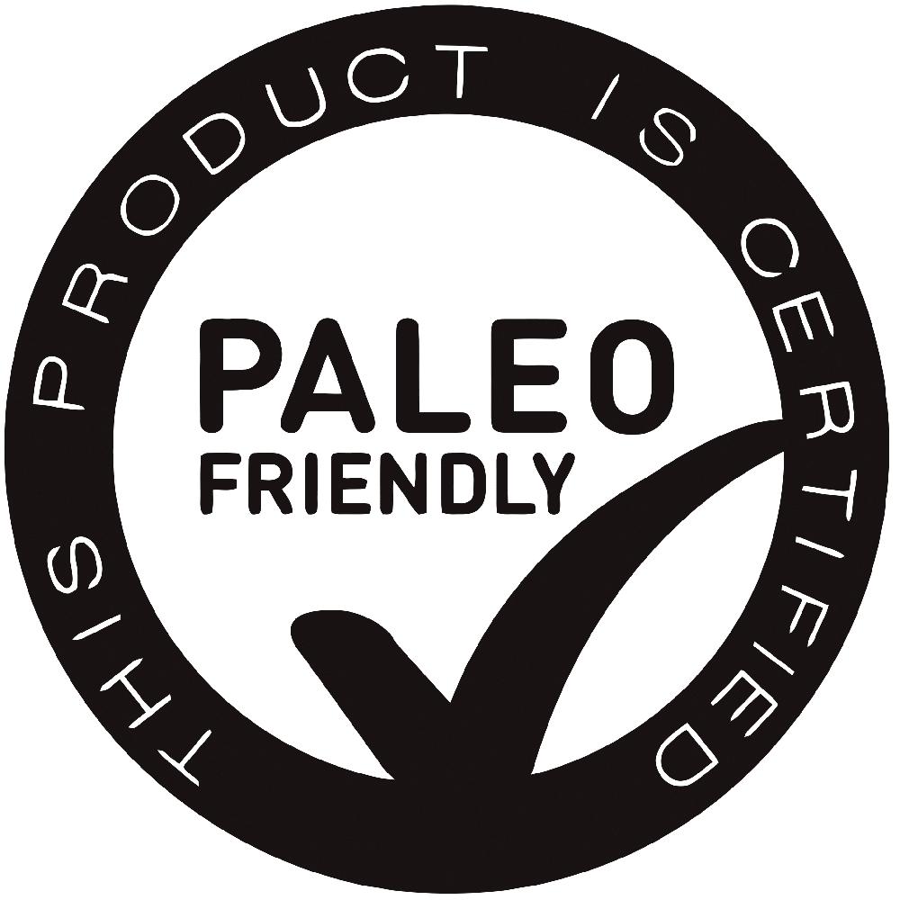 paleo foundation paleo friendly certified logo