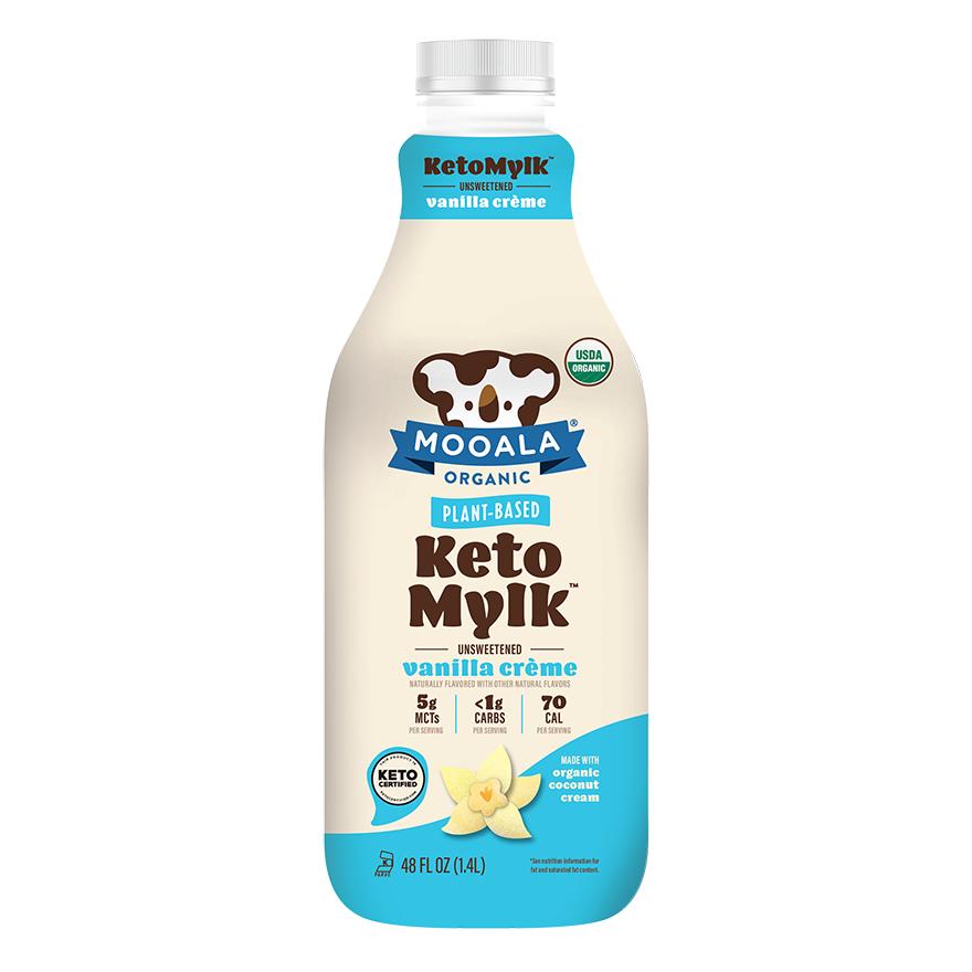 Vanilla Creme Keto Mylk - Mooala Brands - Keto Certified By The Paleo Foundation