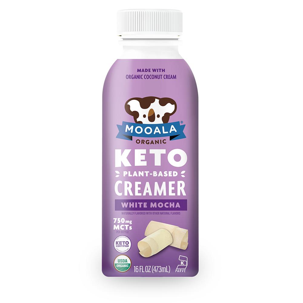White Mocha Keto Creamer - Mooala - Keto Certified by the Paleo Foundation