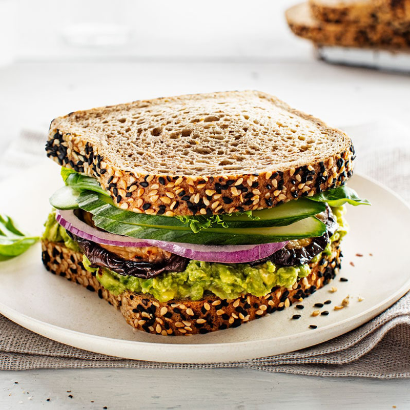 Seeded Bread Sandwich - Keto Certified by the Paleo Foundation