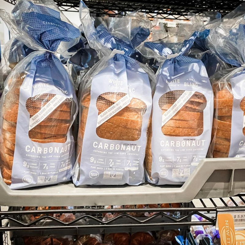 White Bread - Carbonaut - Keto Certified by the Paleo Foundation