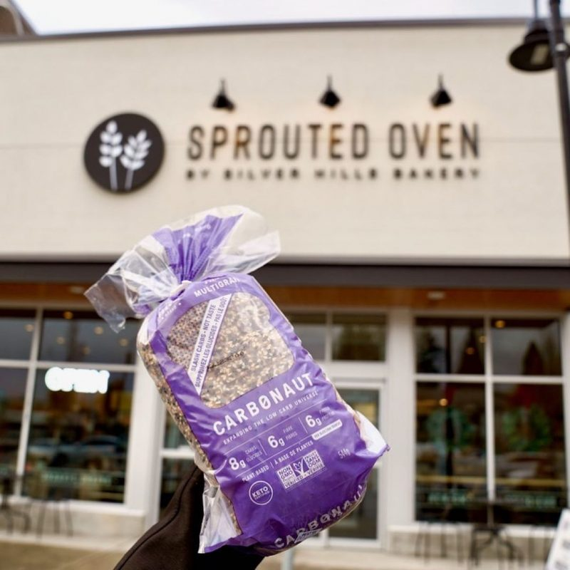 Holding Seeded Bread - Carbonaut - Keto Certified by the Paleo Foundation