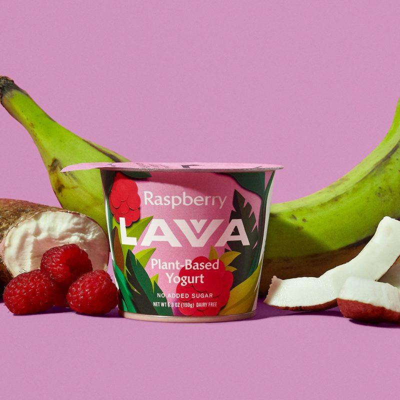 Lavva Non Dairy Yogurt Raspberry - EVR Foods - Certified Paleo by the Paleo Foundation
