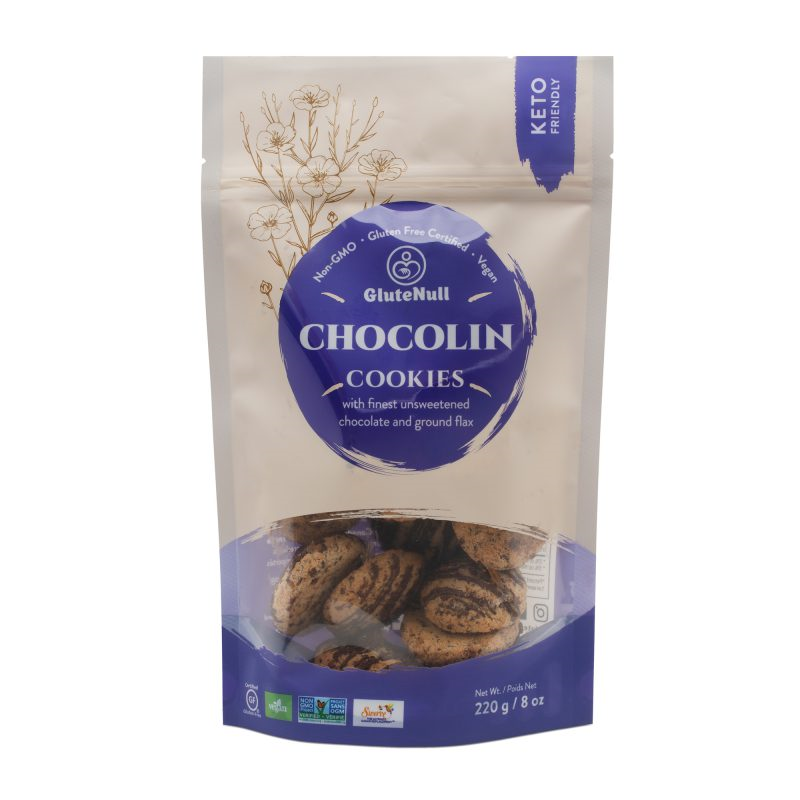 ChocoLin Cookies - GluteNull - Keto Certified by the Paleo Foundation