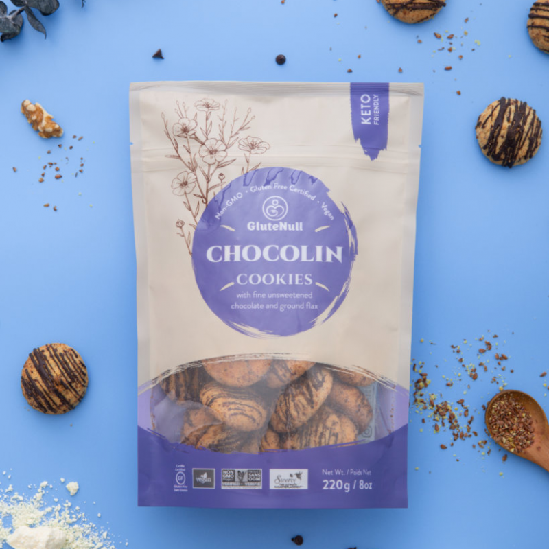 ChocoLin Cookies Package - GluteNull - Keto Certified by the Paleo Foundation