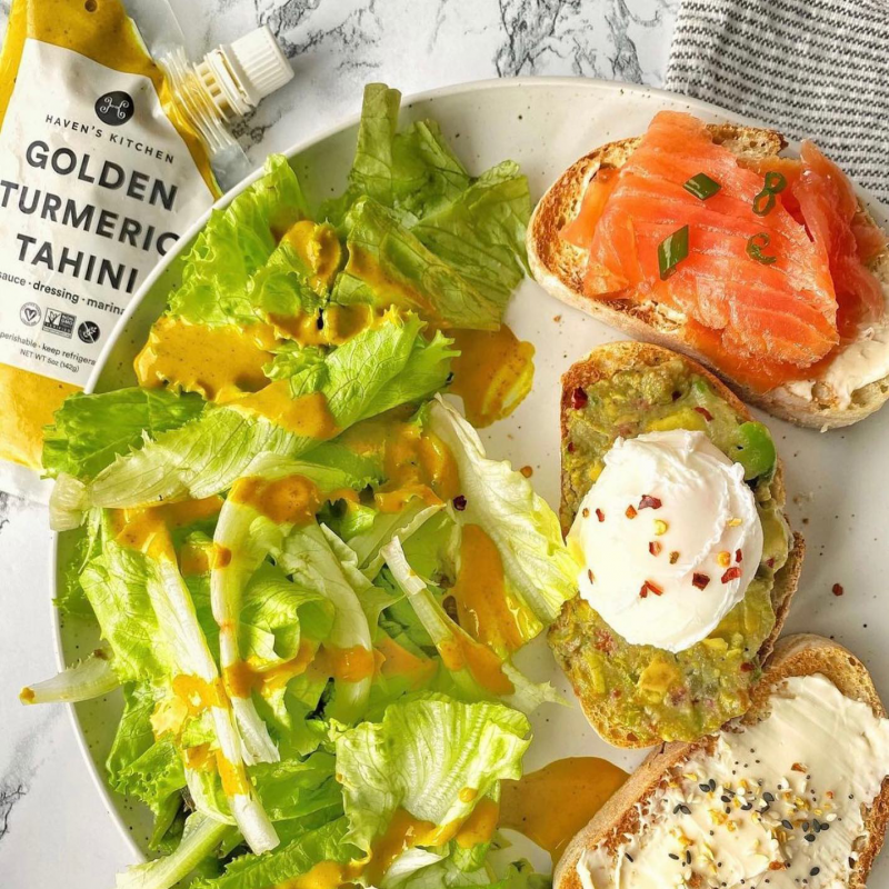 Golden Turmeric Tahini Package 01 - Haven's Kitchen - Keto Certified by the Paleo Foundation