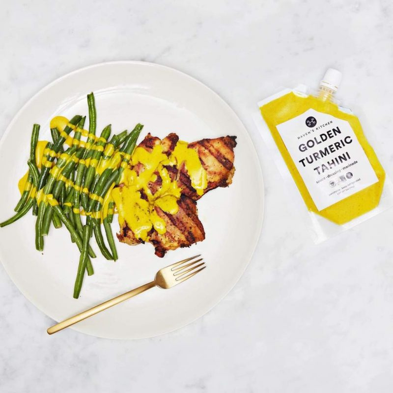 Golden Turmeric Tahini Package 02 - Haven's Kitchen - Keto Certified by the Paleo Foundation