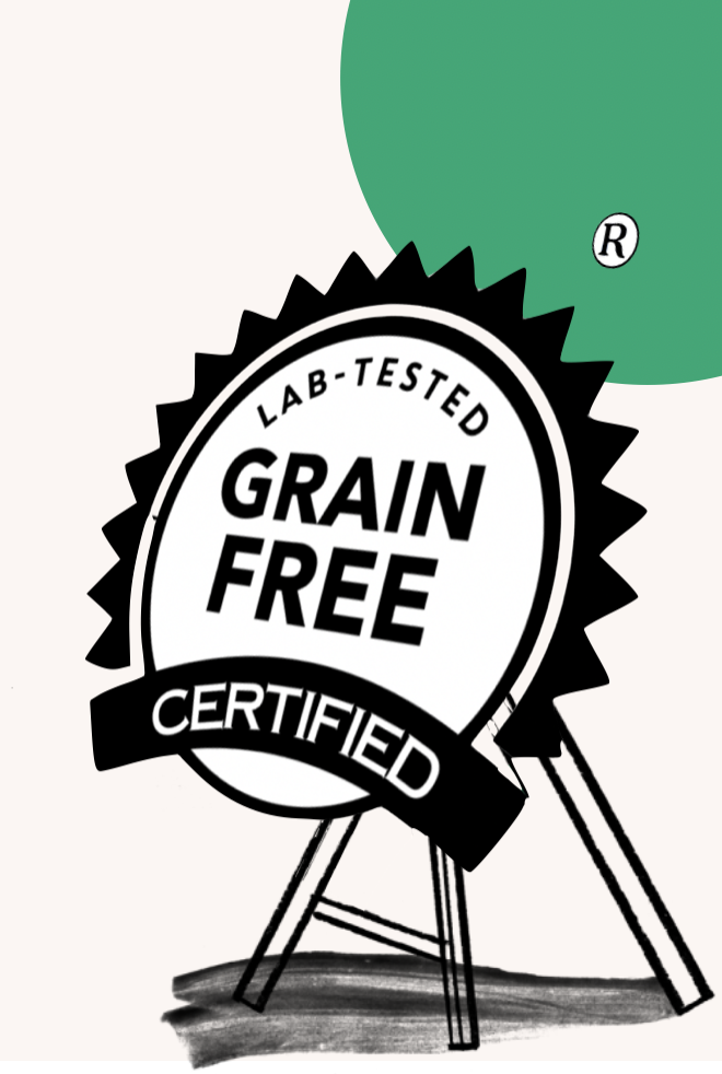 Grain Free Certification logo