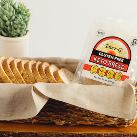 Keto Bread Gallery 2 - Ener G Foods - Keto Certified by the Paleo Foundation