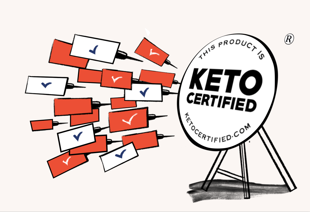 Keto Certification Application for CPG brands