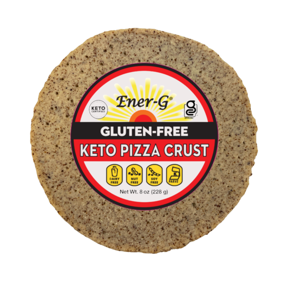 Keto Pizza Crust- Ener G Foods - Keto Certified by the Paleo Foundation